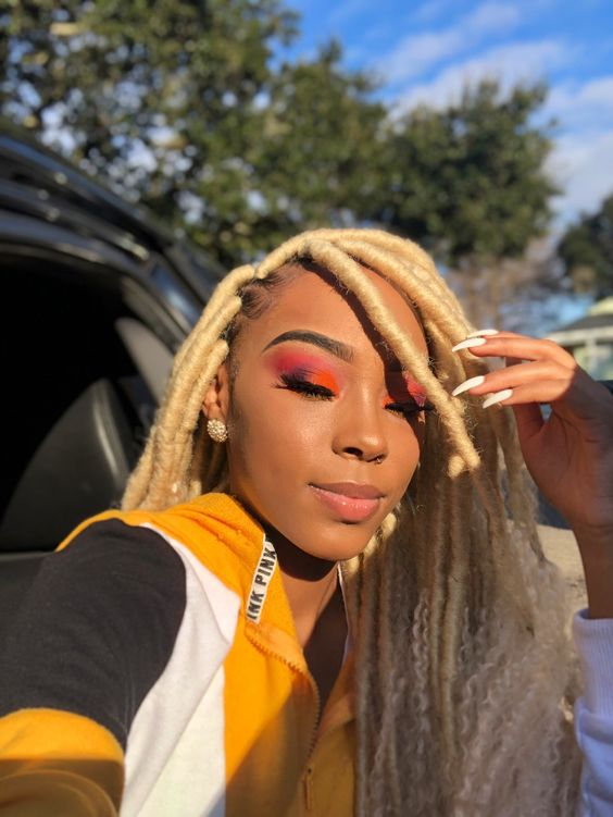 Blonde Goddess Faux Locs