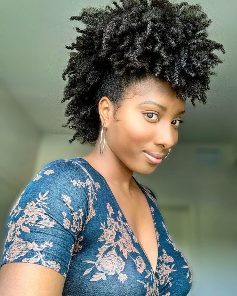 17 Most-Amazing Fro Hawk Styles for Natural Hair