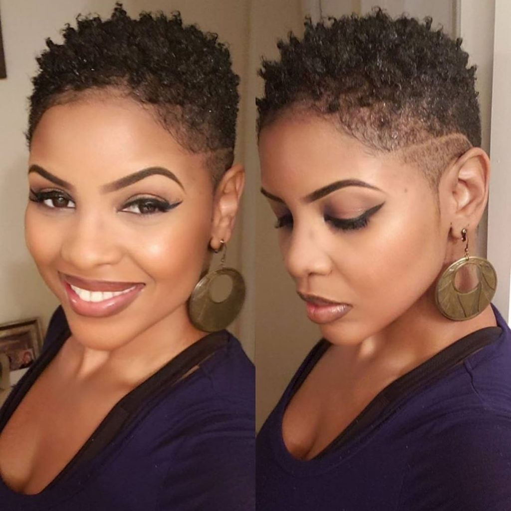 Short Twist Tapered Haircut