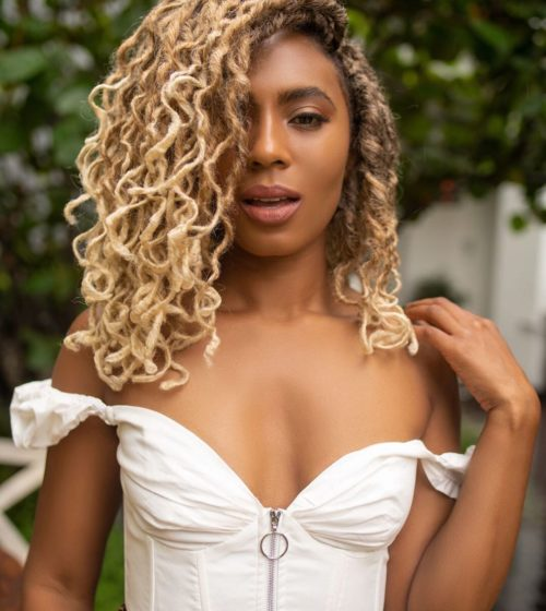 15 Intense Blonde Faux Locs Styles You  Have to Try